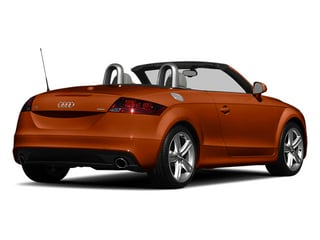 Volcano Red Metallic/Black Roof 2014 Audi TT Pictures TT Roadster 2D AWD photos rear view