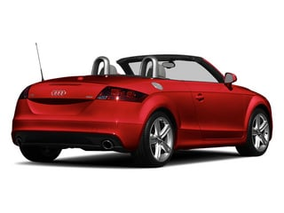 Misano Red Pearl Effect/Black Roof 2014 Audi TT Pictures TT Roadster 2D AWD photos rear view