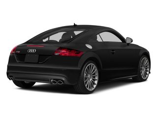 Phantom Black Pearl Effect 2014 Audi TTS Pictures TTS Coupe 2D AWD photos rear view