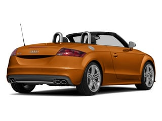 Samoa Orange Metallic/Black Roof 2014 Audi TTS Pictures TTS Roadster 2D AWD photos rear view