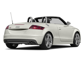 Ibis White/Black Roof 2014 Audi TTS Pictures TTS Roadster 2D AWD photos rear view