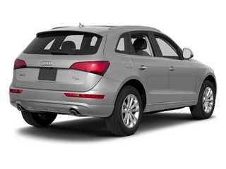 Cuvee Silver Metallic 2014 Audi Q5 Pictures Q5 Util 4D TDI Premium Plus S-Line AWD photos rear view