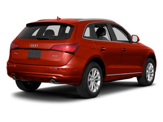Volcano Red Metallic 2014 Audi Q5 Pictures Q5 Util 4D TDI Premium Plus S-Line AWD photos rear view