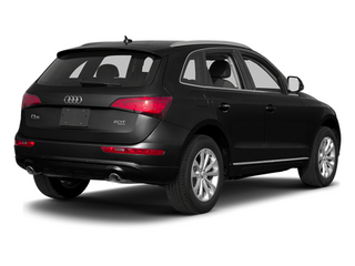 Phantom Black Pearl Effect 2014 Audi Q5 Pictures Q5 Util 4D TDI Premium Plus S-Line AWD photos rear view
