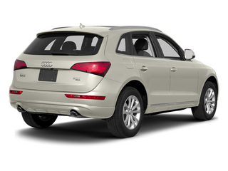 Ice Silver Metallic 2014 Audi Q5 Pictures Q5 Util 4D TDI Premium Plus S-Line AWD photos rear view
