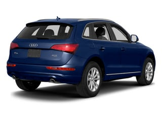Scuba Blue Metallic 2014 Audi Q5 Pictures Q5 Util 4D TDI Premium Plus S-Line AWD photos rear view
