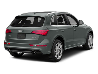 Monsoon Gray Metallic 2014 Audi Q5 Pictures Q5 Utility 4D 2.0T Prestige AWD Hybrid photos rear view