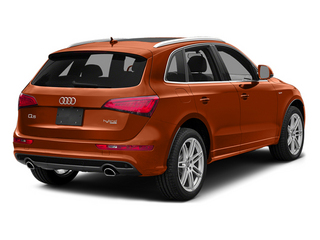 Volcano Red Metallic 2014 Audi Q5 Pictures Q5 Utility 4D 2.0T Prestige AWD Hybrid photos rear view