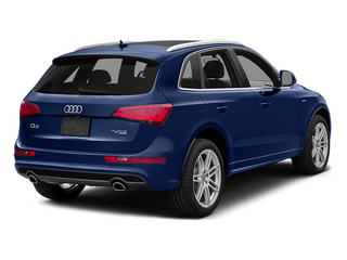 Scuba Blue Metallic 2014 Audi Q5 Pictures Q5 Utility 4D 2.0T Prestige AWD Hybrid photos rear view