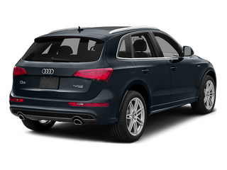 Moonlight Blue Metallic 2014 Audi Q5 Pictures Q5 Utility 4D 2.0T Prestige AWD Hybrid photos rear view