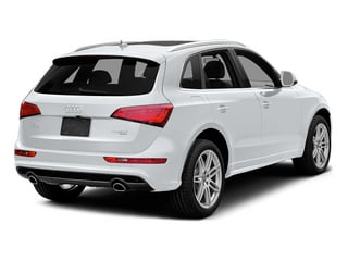 Arctic Silver Metallic 2014 Audi Q5 Pictures Q5 Utility 4D 2.0T Prestige AWD Hybrid photos rear view