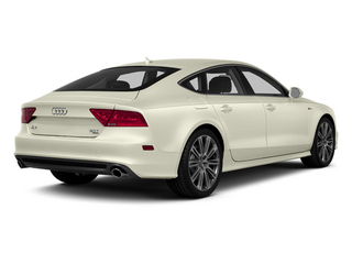 Glacier White Metallic 2014 Audi A7 Pictures A7 Sedan 4D 3.0T Prestige AWD photos rear view