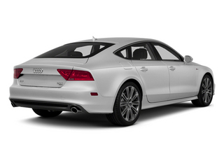 Ice Silver Metallic 2014 Audi A7 Pictures A7 Sedan 4D 3.0T Prestige AWD photos rear view
