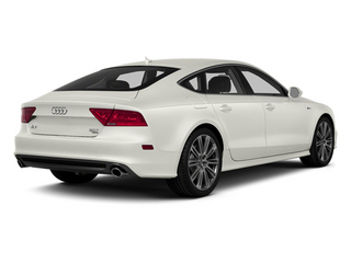Ibis White 2014 Audi A7 Pictures A7 Sedan 4D 3.0T Prestige AWD photos rear view