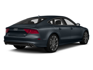 Moonlight Blue Metallic 2014 Audi A7 Pictures A7 Sedan 4D TDI Prestige AWD T-Diesel photos rear view