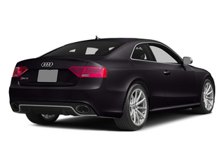 Panther Black Crystal Effect 2014 Audi RS 5 Pictures RS 5 Coupe 2D RS5 AWD V8 photos rear view