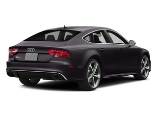 Panther Black Crystal Effect 2014 Audi RS 7 Pictures RS 7 Sedan 4D Prestige AWD photos rear view