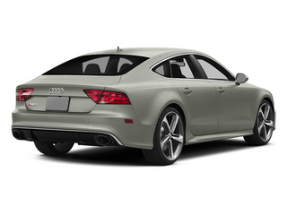 Prism Silver Crystal Effect 2014 Audi RS 7 Pictures RS 7 Sedan 4D Prestige AWD photos rear view