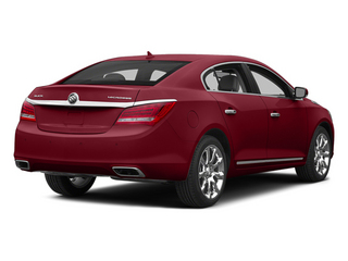 Crystal Red Tintcoat 2014 Buick LaCrosse Pictures LaCrosse Sedan 4D Leather V6 photos rear view
