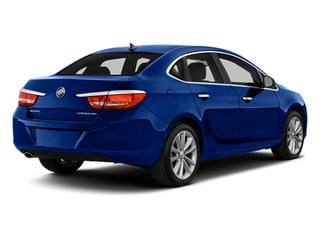 Luxo Blue Metallic 2014 Buick Verano Pictures Verano Sedan 4D Leather I4 photos rear view