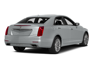 Radiant Silver Metallic 2014 Cadillac CTS Sedan Pictures CTS Sedan 4D Performance V6 photos rear view