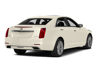 White Diamond Tricoat 2014 Cadillac CTS Sedan Pictures CTS Sedan 4D Performance V6 photos rear view