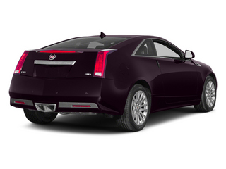 Majestic Plum Metallic 2014 Cadillac CTS Coupe Pictures CTS Coupe 2D Premium AWD V6 photos rear view