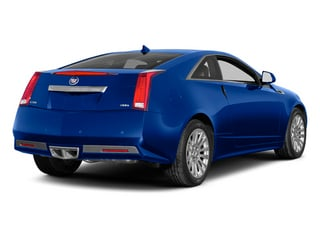 Opulent Blue Metallic 2014 Cadillac CTS Coupe Pictures CTS Coupe 2D Premium AWD V6 photos rear view