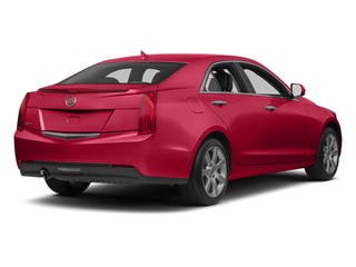 Red Obsession Tintcoat 2014 Cadillac ATS Pictures ATS Sedan 4D Luxury I4 Turbo photos rear view