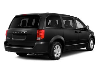 Brilliant Black Crystal Pearlcoat 2014 Dodge Grand Caravan Pictures Grand Caravan Grand Caravan SXT V6 photos rear view