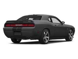 Granite Crystal Metallic Clearcoat 2014 Dodge Challenger Pictures Challenger Coupe 2D SRT-8 V8 photos rear view