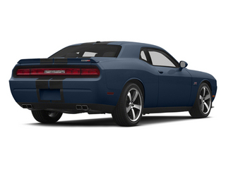 Jazz Blue Pearlcoat 2014 Dodge Challenger Pictures Challenger Coupe 2D SRT-8 V8 photos rear view
