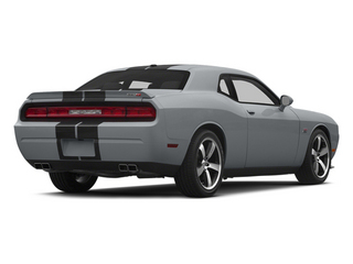 Billet Silver Metallic Clearcoat 2014 Dodge Challenger Pictures Challenger Coupe 2D SRT-8 V8 photos rear view