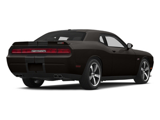 Black Clearcoat 2014 Dodge Challenger Pictures Challenger Coupe 2D SRT-8 V8 photos rear view