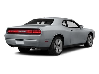 Billet Silver Metallic Clearcoat 2014 Dodge Challenger Pictures Challenger Coupe 2D R/T V8 photos rear view