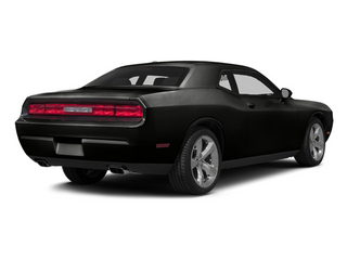 Black Clearcoat 2014 Dodge Challenger Pictures Challenger Coupe 2D R/T V8 photos rear view