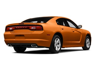 Header Orange Clearcoat 2014 Dodge Charger Pictures Charger Sedan 4D SXT V6 photos rear view