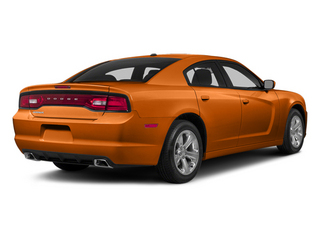 Header Orange Clearcoat 2014 Dodge Charger Pictures Charger Sedan 4D R/T V8 photos rear view