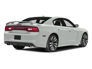Bright White Clearcoat 2014 Dodge Charger Pictures Charger Sedan 4D SRT-8 V8 photos rear view