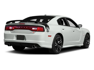 Bright White Clearcoat 2014 Dodge Charger Pictures Charger Sedan 4D SRT-8 Super Bee V8 photos rear view