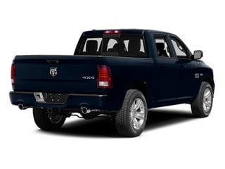 True Blue Pearlcoat 2014 Ram Truck 1500 Pictures 1500 Crew Cab Limited 2WD photos rear view