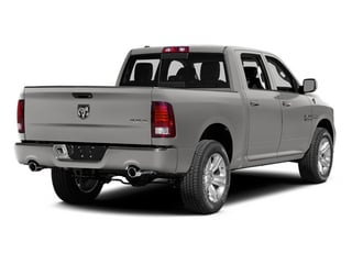 Bright Silver Metallic Clearcoat 2014 Ram Truck 1500 Pictures 1500 Crew Cab Limited 2WD photos rear view