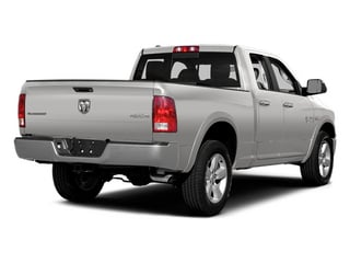 Bright Silver Metallic Clearcoat 2014 Ram 1500 Pictures 1500 Quad Cab Laramie 4WD photos rear view