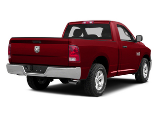 Bright Red 2014 Ram Truck 1500 Pictures 1500 Regular Cab Tradesman 4WD photos rear view