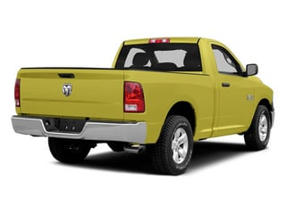 Bright Green 2014 Ram Truck 1500 Pictures 1500 Regular Cab Tradesman 4WD photos rear view