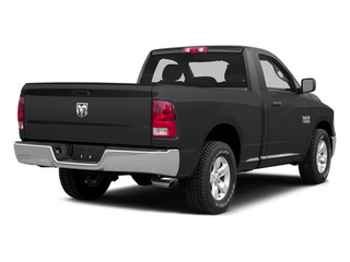 Granite Crystal Metallic Clearcoat 2014 Ram Truck 1500 Pictures 1500 Regular Cab R/T 2WD photos rear view
