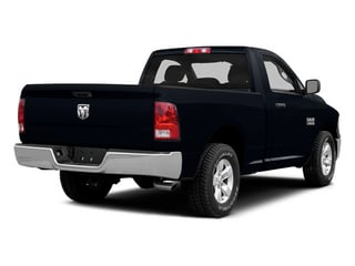 Midnight Blue Pearlcoat 2014 Ram Truck 1500 Pictures 1500 Regular Cab Tradesman 4WD photos rear view