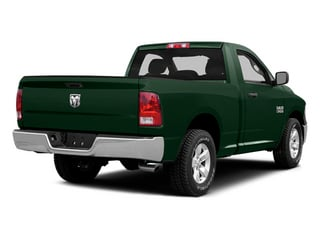 Timberline Green Pearlcoat 2014 Ram Truck 1500 Pictures 1500 Regular Cab Tradesman 4WD photos rear view