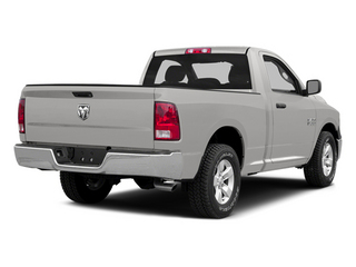 Bright Silver Metallic Clearcoat 2014 Ram Truck 1500 Pictures 1500 Regular Cab R/T 2WD photos rear view