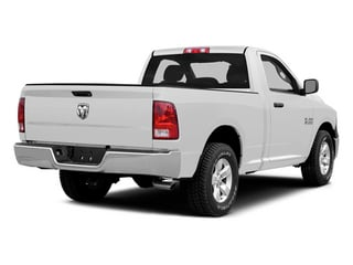 Bright White Clearcoat 2014 Ram Truck 1500 Pictures 1500 Regular Cab Tradesman 4WD photos rear view